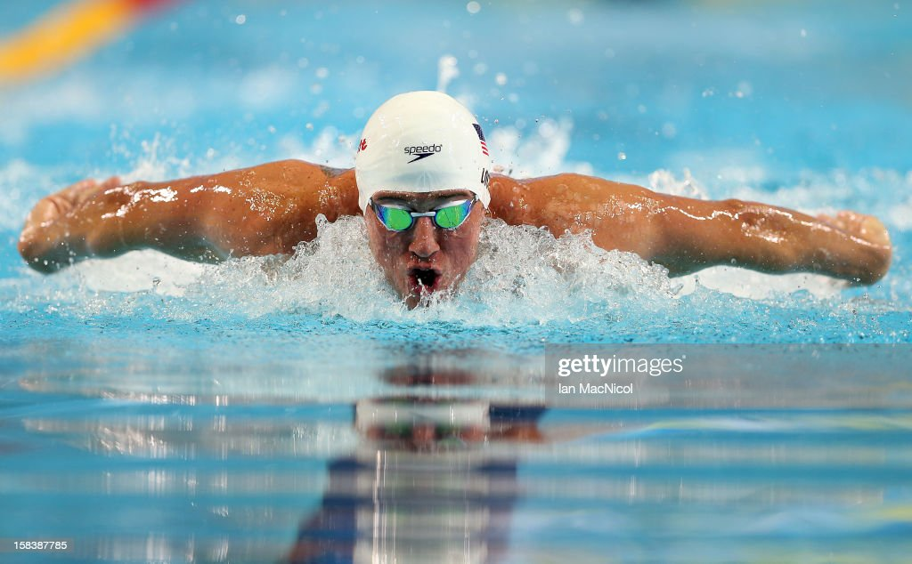 Ryan Lochte of USA competes in the Men's 100m IM heats during day four of the 11th FINA Short Course World Championships at the Sinan Erdem Dome on December 14, 2012 in Istanbul, Turkey.