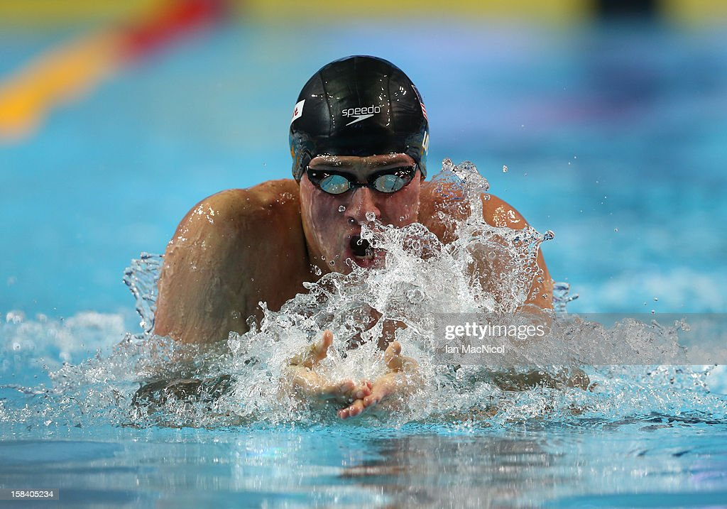 Ryan Lochte of USA competes in the Men's 100m IM Semi Final during day four of the 11th FINA Short Course World Championships at the Sinan Erdem Dome on December 15, 2012 in Istanbul, Turkey.