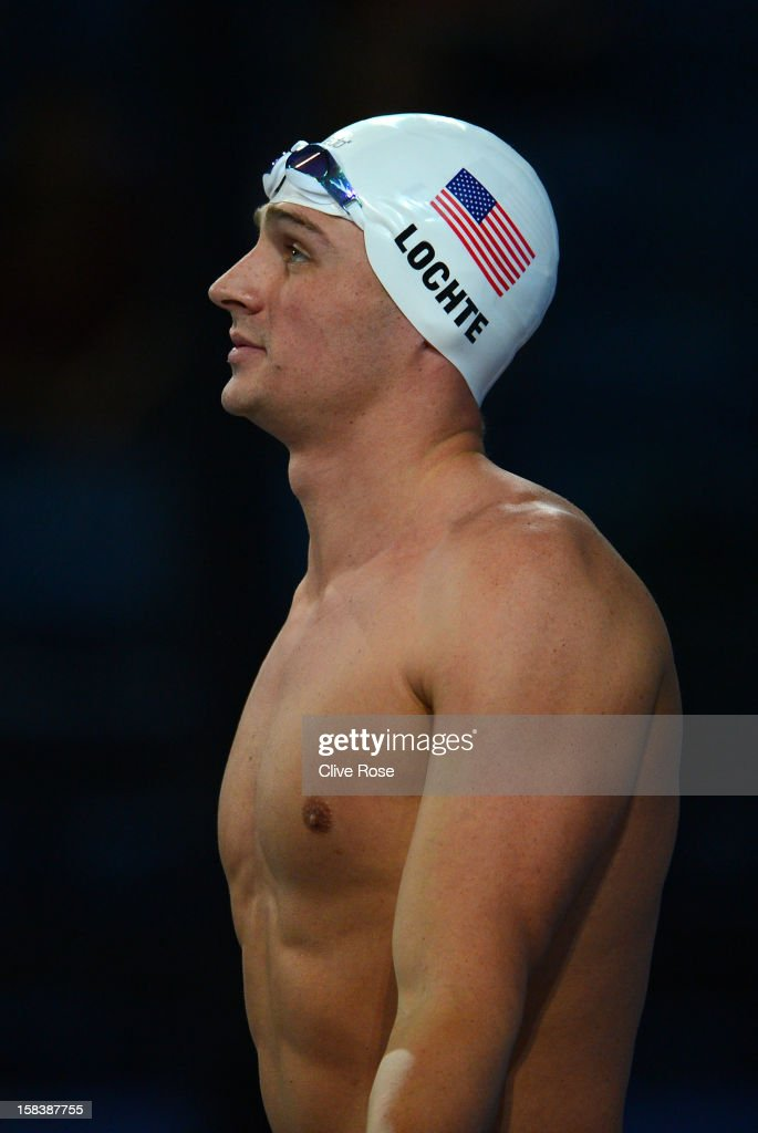 Ryan Lochte of USA prepares to compete in the Men's 100m Individual Medley heats during day four of the 11th FINA Short Course World Championships at the Sinan Erdem Dome on December 15, 2012 in Istanbul, Turkey.