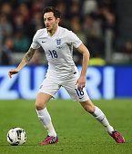 Ryan Mason of England in action during the International Friendly match between Italy and England at Juventus Stadium on March 31 2015 in Turin Italy