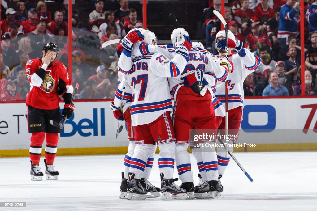 New York Rangers v Ottawa Senators - Game Two