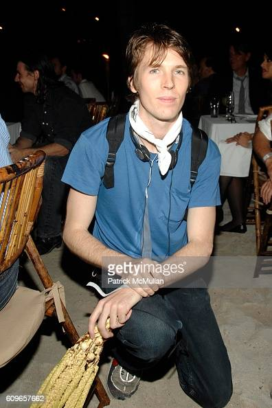 Ryan McGinley attends ACCOMPANIED LITERARY SOCIETY and Swarovski Celebrate ASSOULINE's THE WORTH OF ART in association with Mutal Art at The Raleigh...