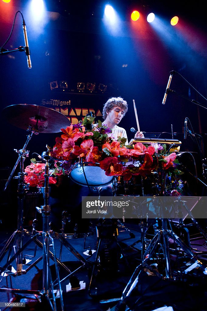 Ryan McPhun of The Ruby Suns performs during Primavera Sound Festival at Sala Apolo on May 24, 2010 in Barcelona, Spain.