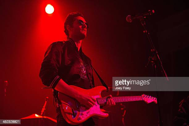 Ryan Merchant of Capital Cities performs in concert at Egyptian Room at Old National Centre on November 16 2013 in Indianapolis Indiana