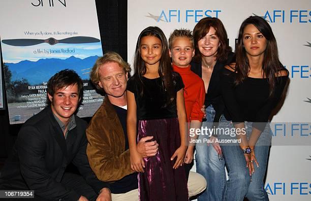 Ryan Merriman director James Redford Marisaa Baca Max Madore Dana Delany and Paula Garces