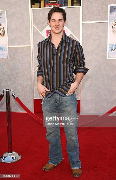 Ryan Merriman during 'Eight Below' Los Angeles Premiere Arrivals at El Capitan in Hollywood California United States