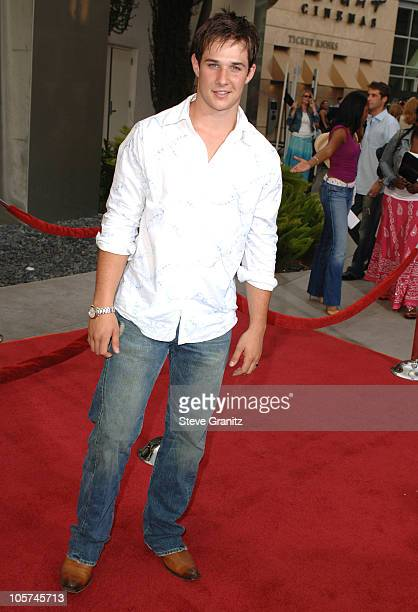 Ryan Merriman during 'Hustle Flow' Los Angeles Premiere Arrivals at ArcLight Cinerama Dome in Hollywood California United States