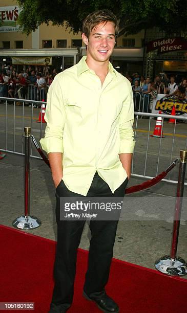 Ryan Merriman during 'SWAT' Premiere at Mann Village Theatre in Westwood California United States