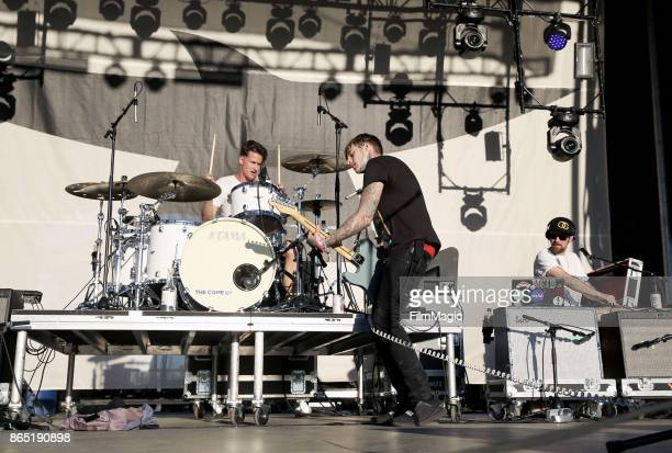 Ryan Meyer and Johnny Stevens of Highly Suspect perform at Echo Stage during day 3 of the 2017 Lost Lake Festival on October 22 2017 in Phoenix...