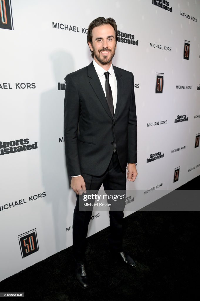 Ryan Miller at Sports Illustrated 2017 Fashionable 50 Celebration at Avenue on July 18, 2017 in Los Angeles, California.