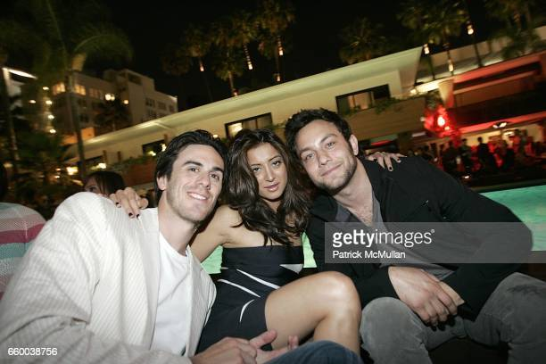 Ryan Miller Noureen DeWulf and Jonathon Sadowski attend NYLON and MYSPACE May Young Hollywood Issue Party Hosted by Kat Dennings and Olivia Thirlby...