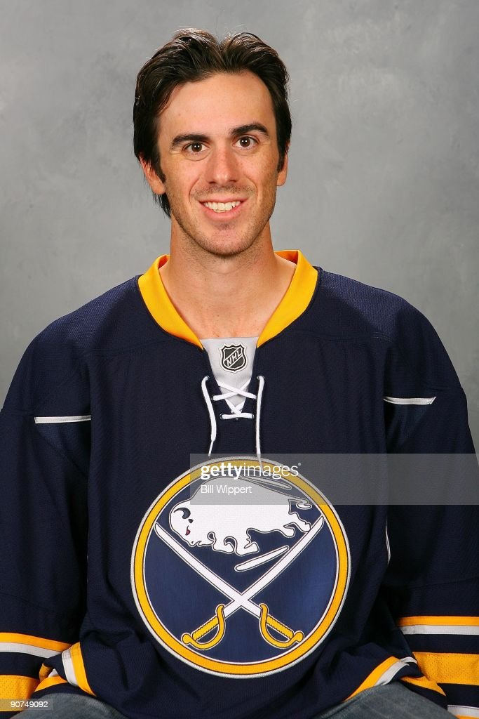 Ryan Miller of the Buffalo Sabres poses for his official headshot for the 2009-2010 NHL season.