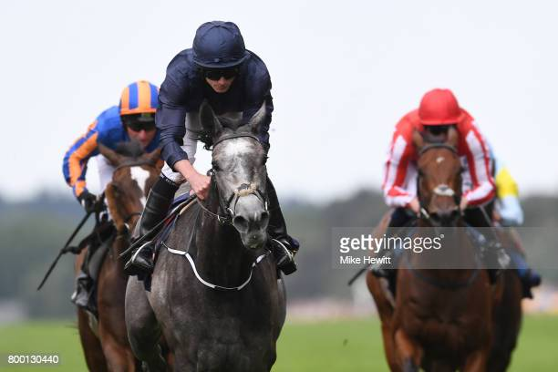Ryan Moore on Winter wins the Coronation Stakes on Day Four of Royal Ascot at Ascot Racecourse on June 23 2017 in Ascot England