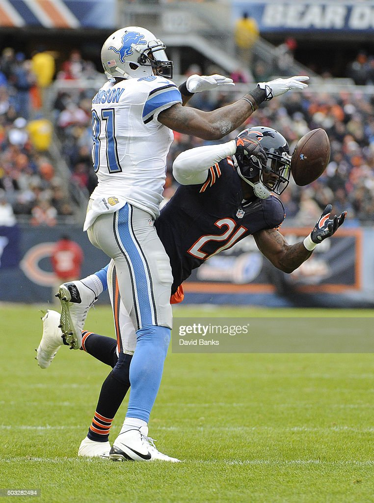 Detroit Lions v Chicago Bears