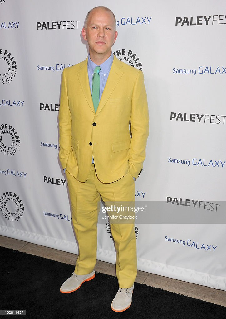 Ryan Murphy attends the PaleyFest Icon Award 2013 held at The Paley Center for Media on February 27, 2013 in Beverly Hills, California.