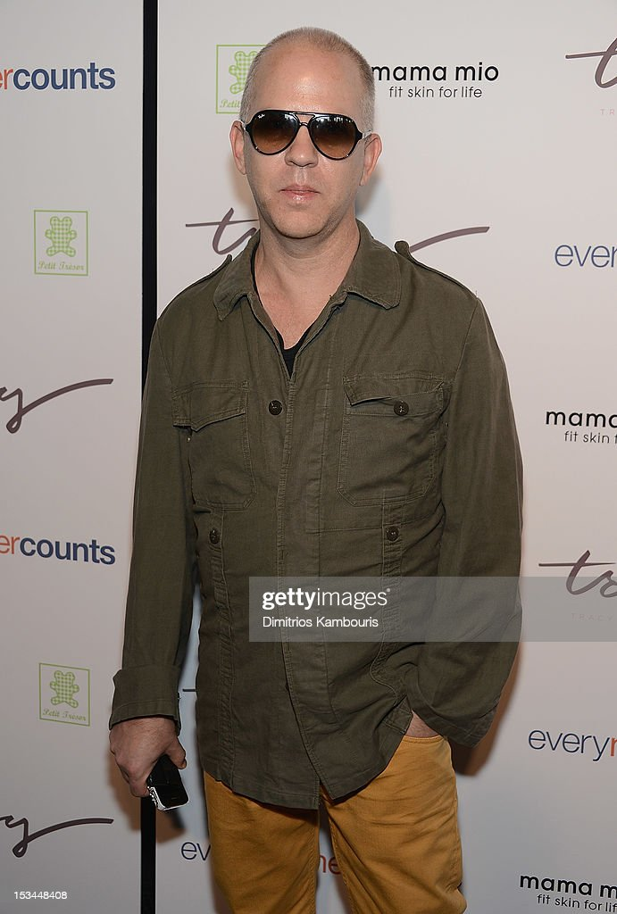 Ryan Murphy attends The Tracy Anderson Method Pregnancy Project at Le Bain At The Standard on October 5, 2012 in New York City.