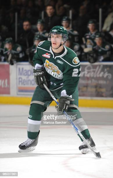 Ryan Murray of the Everett Silvertips skates against the Kelowna Rockets at Prospera Place on March 23 2010 in Kelowna Canada