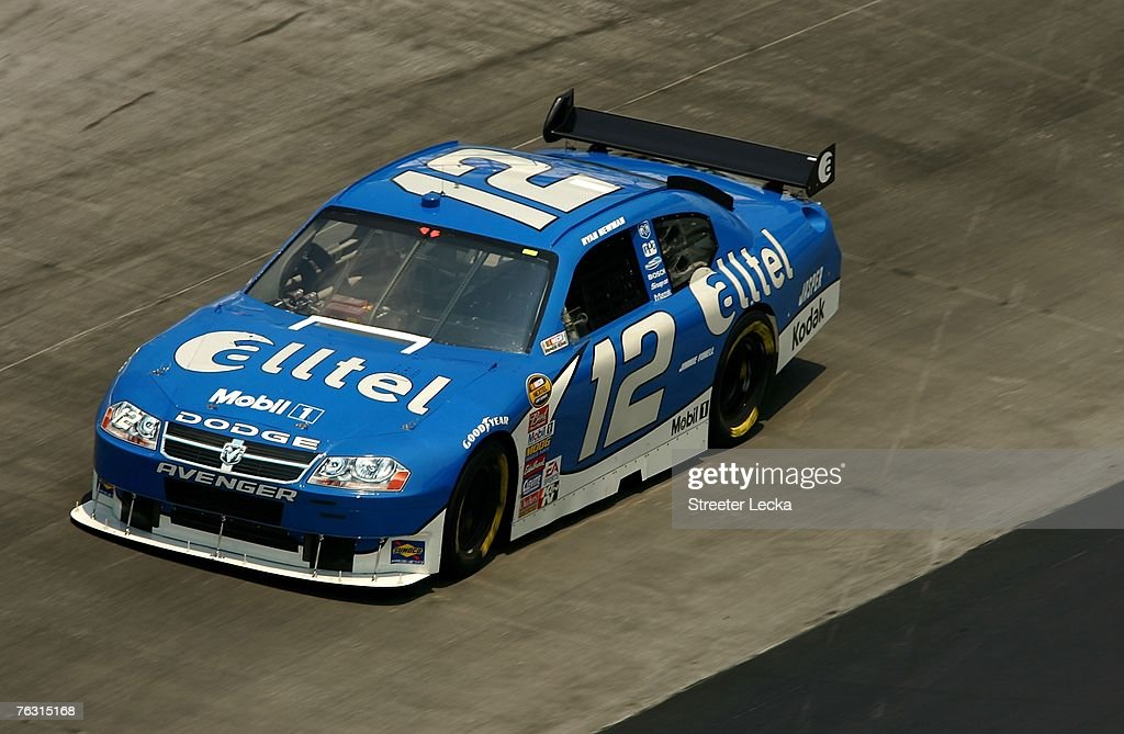 Ryan Newman driver of the alltel Dodge drives during practice for the NASCAR Nextel Cup Series Sharpie 500 at Bristol Motor Speedway on August 24...