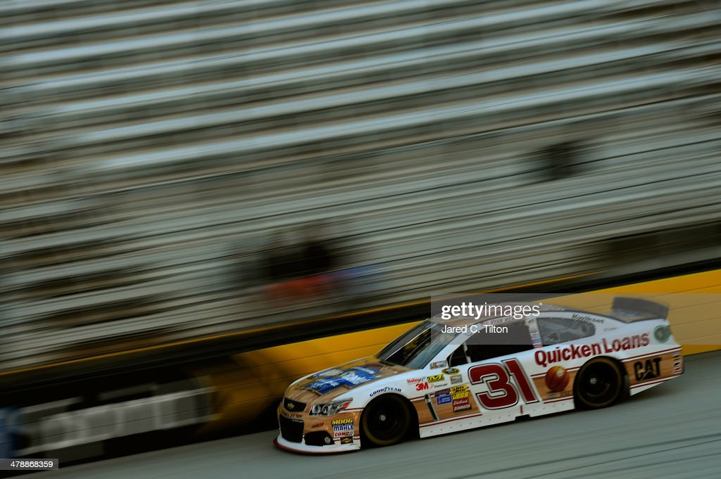 Ryan Newman drives the #31 QuickenLoansBillionDollarBracketChallenge Chevrolet during practice for the NASCAR Sprint Cup Series Food City 500 at Bristol Motor Speedway on March 15, 2014 in Bristol, Tennessee.