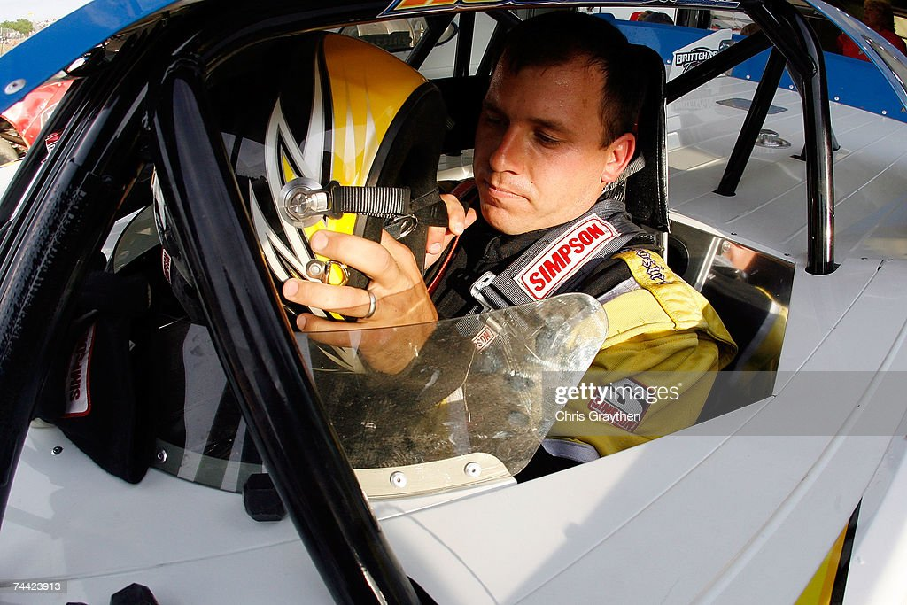 Ryan Newman prepares to drive during the Nextel Prelude to the Dream on June 6 2007 at Eldora Speedway in New Weston Ohio