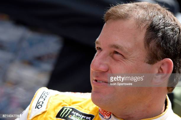 Ryan Newman Richard Childress Racing Chevrolet SS looks on during driver introductions before the start of the NASCAR Monster Energy Cup Series...