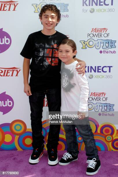 Ryan Ochoa and attend Variety's 4th Annual Power of Youth Event at Paramount Studios on October 24 2010 in Los Angeles California