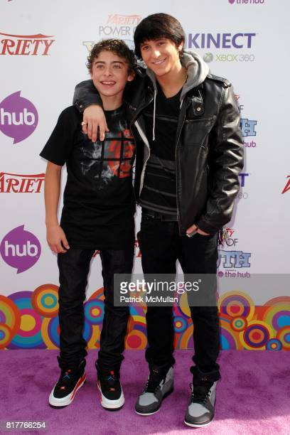 Ryan Ochoa and Mitchel Musso attend Variety's 4th Annual Power of Youth Event at Paramount Studios on October 24 2010 in Los Angeles California