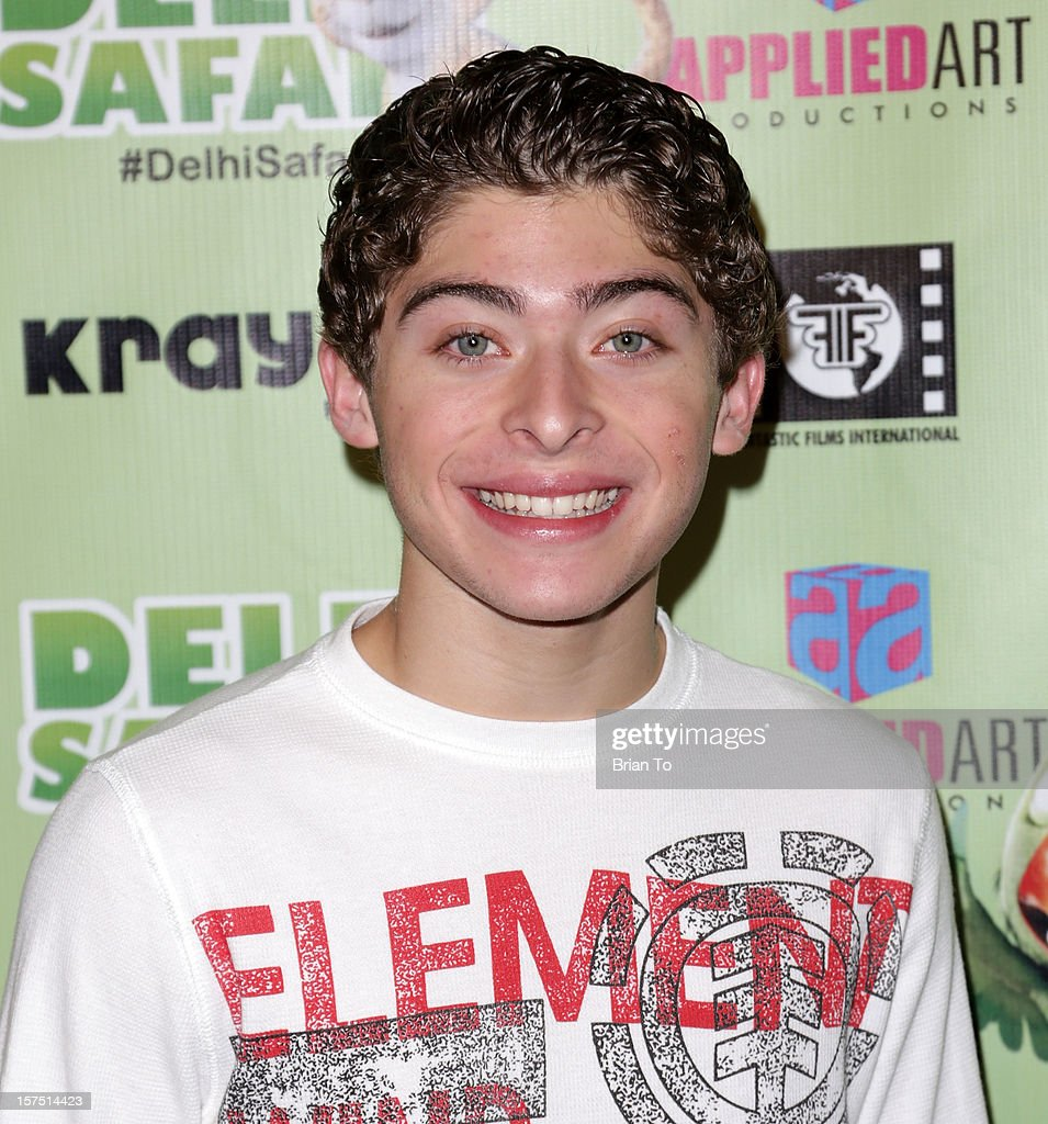 Ryan Ochoa attends 'Delhi Safari' - Los Angeles premiere at Pacific Theatre at The Grove on December 3, 2012 in Los Angeles, California.
