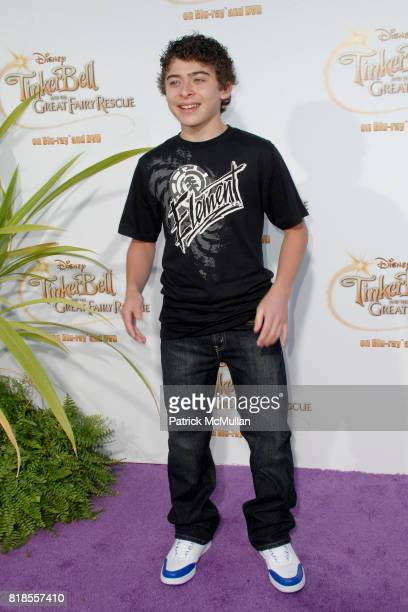 Ryan Ochoa attends Picnic In The Park For 'Tinker Bell And The Great Fairy Rescue' at La Cienega Park on August 28 2010 in Beverly Hills CA