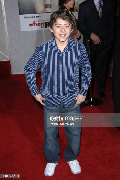 Ryan Ochoa attends WHEN IN ROME World Premiere at El Capitan Theatre on January 27 2010 in Hollywood California