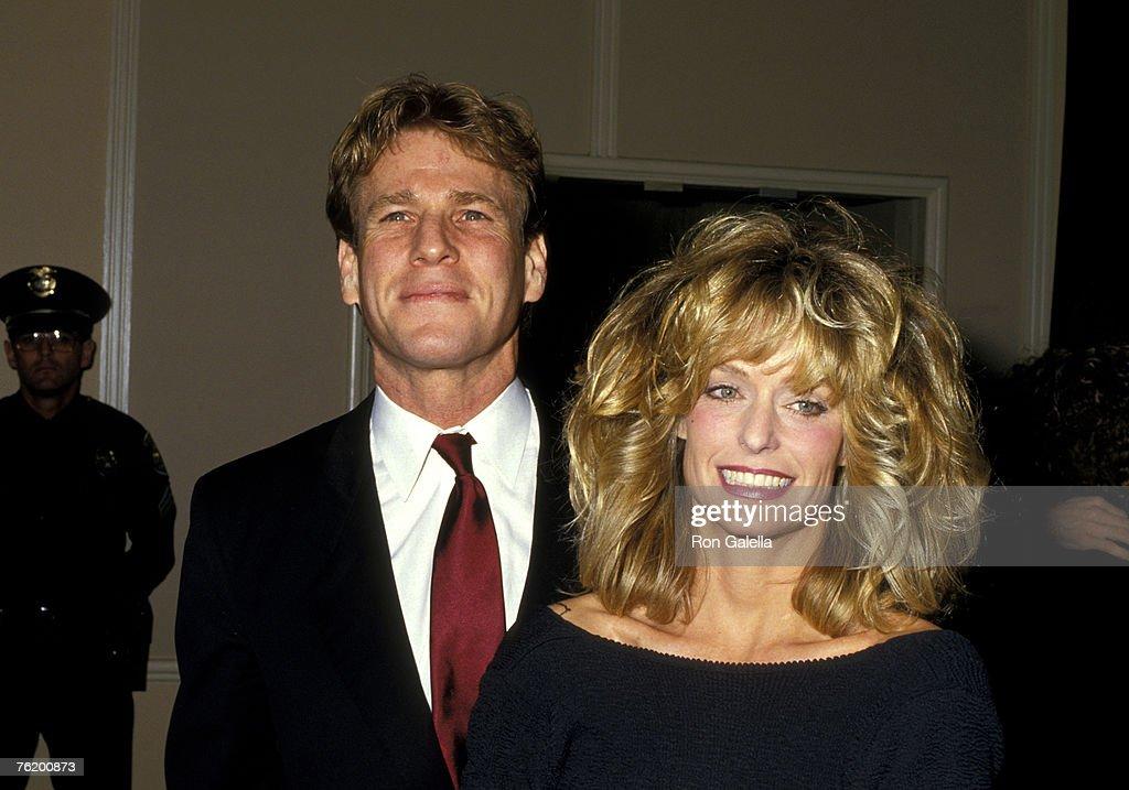 Ryan O'Neal and Farrah Fawcett