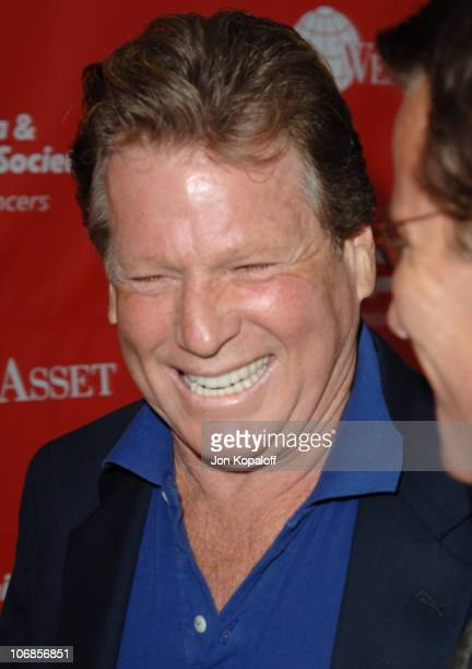 Ryan O'Neal during The Leukemia Lymphoma Society Presents The Inaugural Celebrity Rock 'N Bowl Event at Lucky Strike Lanes in Hollywood California...