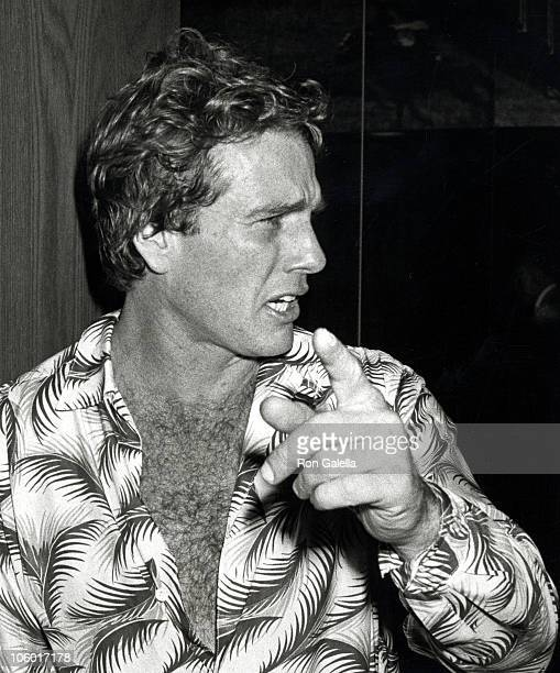 Ryan O'Neal during WrapUp Party for 'Oliver's Story' at US Steak House in Los Angeles California United States