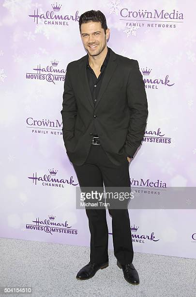 Ryan Paevey arrives at Hallmark Channel/Hallmark Movies and Mysteries party during the Winter 2016 TCA press tour held at Tournament House on January...