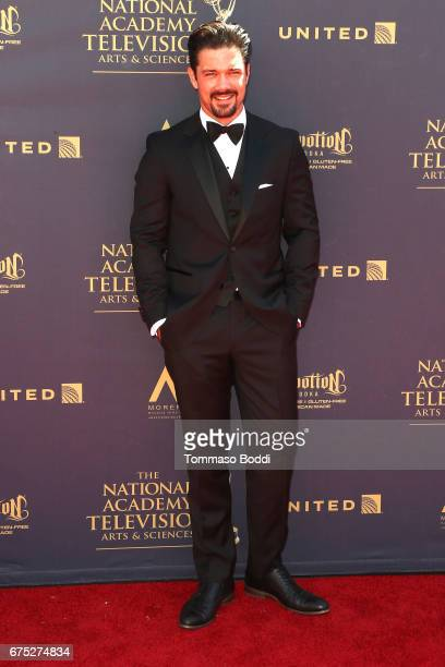 Ryan Paevey attends the 44th Annual Daytime Emmy Awards at Pasadena Civic Auditorium on April 30 2017 in Pasadena California