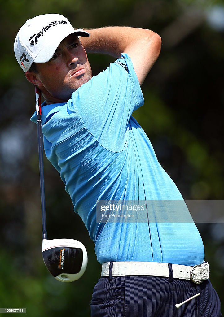 <a gi-track='captionPersonalityLinkClicked' href=/galleries/search?phrase=Ryan+Palmer&family=editorial&specificpeople=240538 ng-click='$event.stopPropagation()'>Ryan Palmer</a> hits a shot during the second round of the 2013 HP Byron Nelson Championship at the TPC Four Seasons Resort on May 17, 2013 in Irving, Texas.