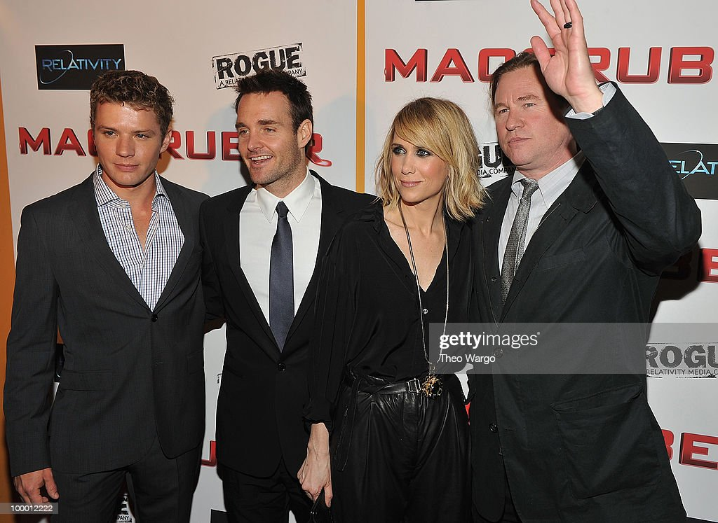 Ryan Phillipe,Will Forte, Kristen Wiig and Val Kilmer attend the 'MacGruber' premiere at Landmark's Sunshine Cinema on May 19, 2010 in New York City.