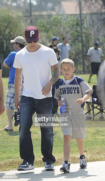 Ryan Phillippe and Deacon Phillippe are seen on May 04 2013 in Los Angeles California