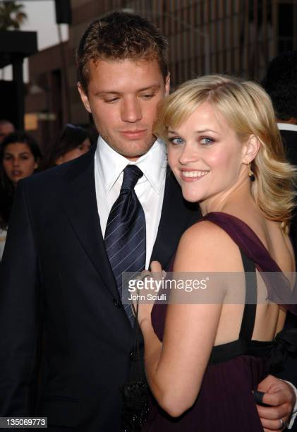 Ryan Phillippe and Reese Witherspoon during 'Crash' Los Angeles Premiere Red Carpet at The Academy of Motion Picture Arts and Sciences in Los Angeles...