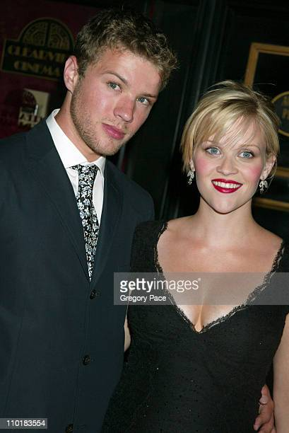 Ryan Phillippe and Reese Witherspoon wearing a Versace dress