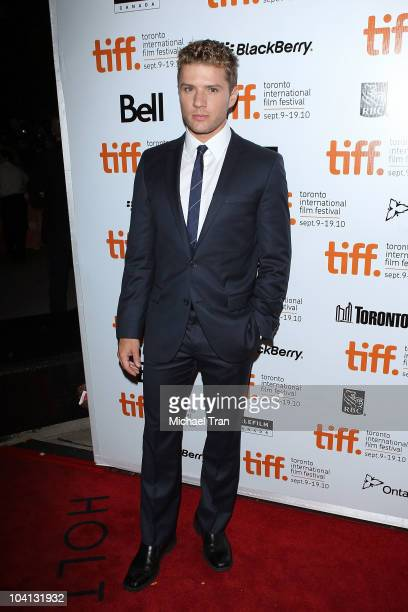 Ryan Phillippe arrives at 'The Bang Band Club' premiere during the 2010 Toronto International Film Festival held at Roy Thompson Hall on September 15...