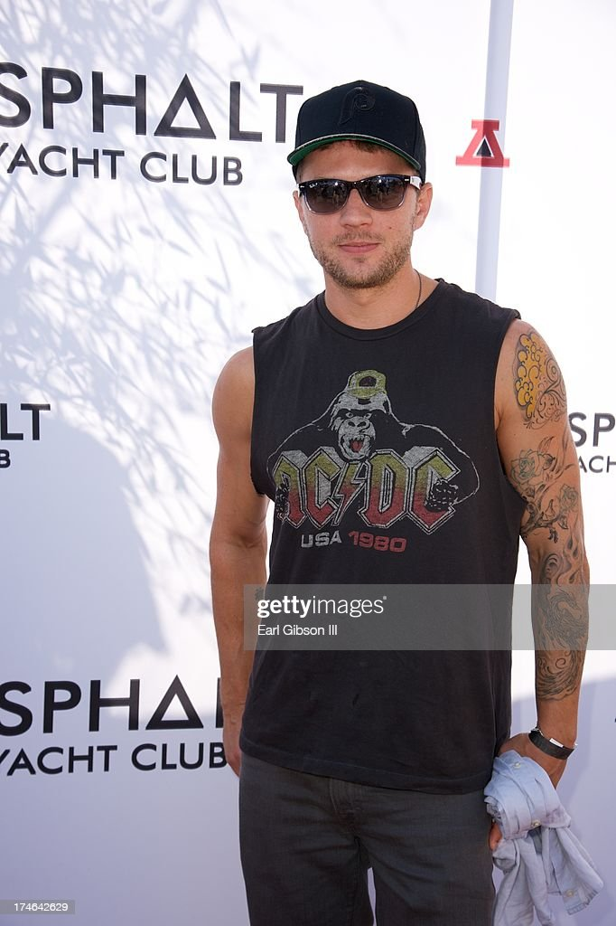 <a gi-track='captionPersonalityLinkClicked' href=/galleries/search?phrase=Ryan+Phillippe&family=editorial&specificpeople=210855 ng-click='$event.stopPropagation()'>Ryan Phillippe</a> attends the Asphalt Yacht Clubs launch of their apparel line at Malibu Inn on July 27, 2013 in Malibu, California.