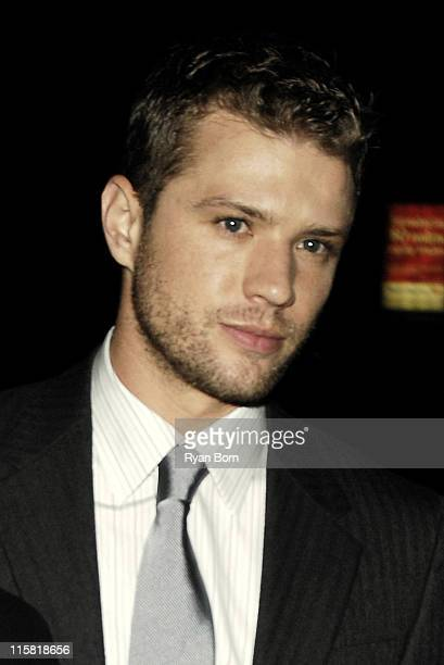 Ryan Phillippe during The Cinema Society Zenith Watches Host Screening of 'Flags of our Fathers' Outside Arrivals at Tribeca Grand Hotel Grand...