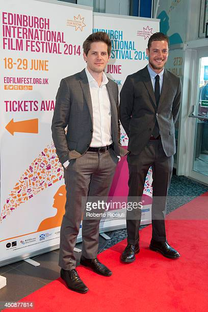 Ryan Piers Williams and Jon Paul Phillips attend 'X/Y' Gala Screening at Cineworld during the Edinburgh International Film Festival on June 19 2014...