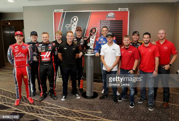Ryan Reed Brennan Poole Cole Custer William Bryon Daniel Hemric Matt Tifft Elliott Sadler Blake Koch Justin Allgaier Brendan Gaughan Jeremy Clements...