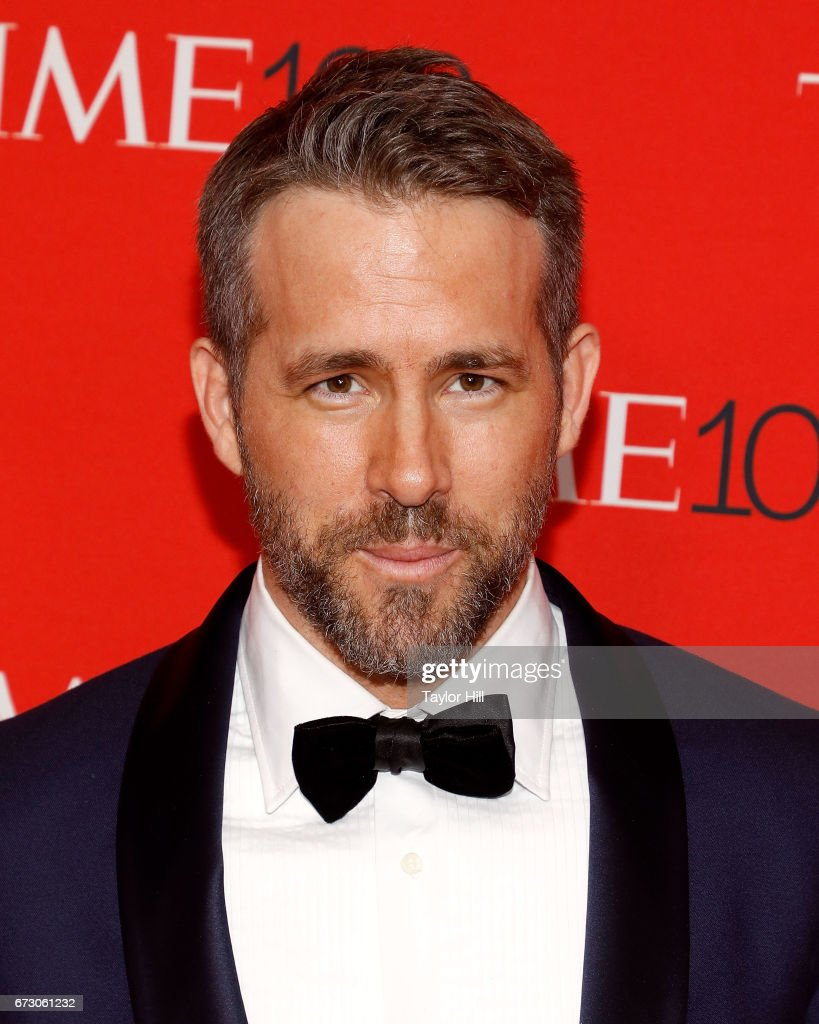 Ryan Reynolds attends the 2017 Time 100 Gala at Jazz at Lincoln Center on April 25, 2017 in New York City.