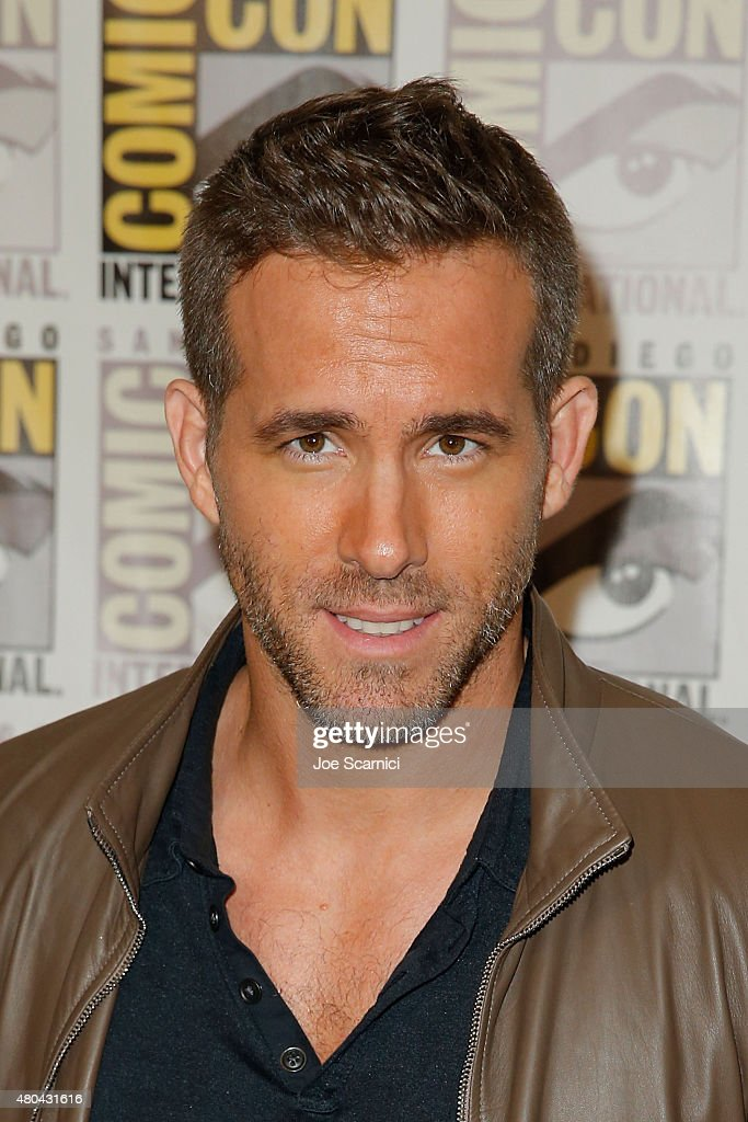 Ryan Reynolds attends the 20'th Century Fox Press Line at Comic-Con International 2015 Day 3 on July 11, 2015 in San Diego, California.