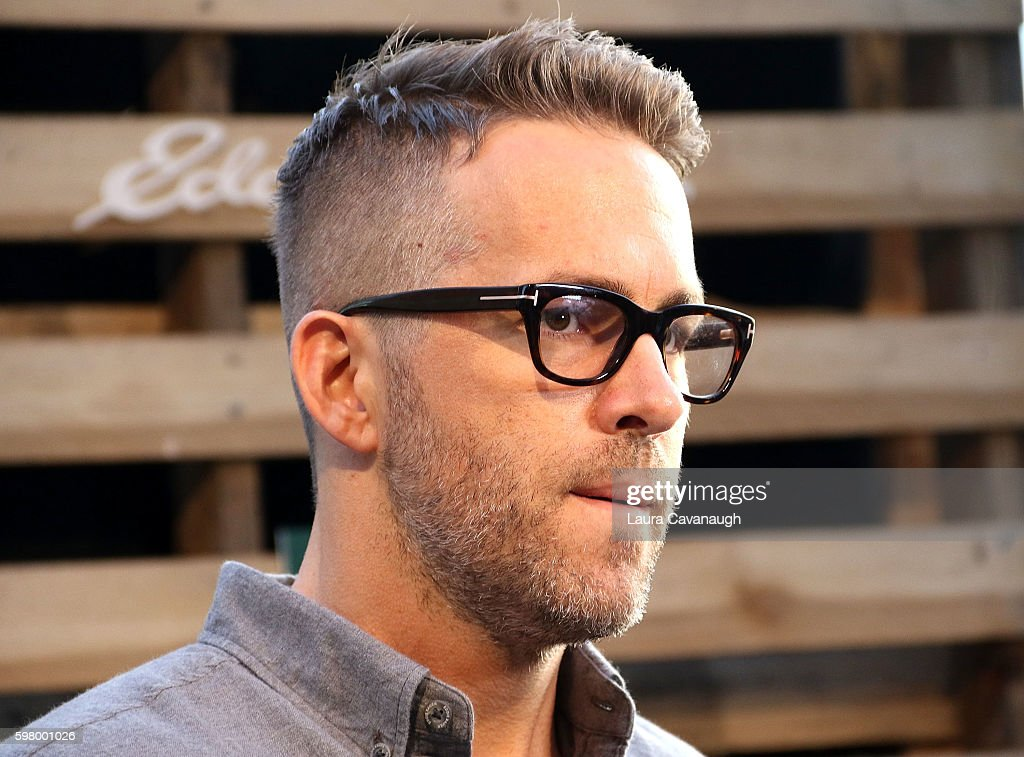 Ryan Reynolds attends The One Tree Initiative Celebration at The Highline on August 30 2016 in New York City