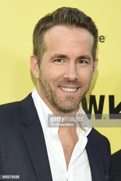 Ryan Reynolds attends the Premier of 'Life' at the Zach Theatre during the 2017 SXSW Conference And Festivals on March 18 2017 in Austin Texas