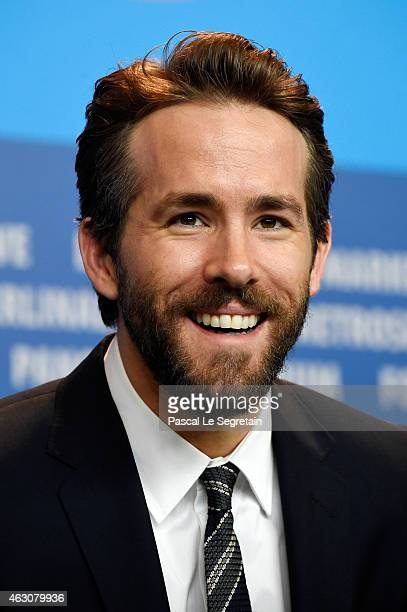 Ryan Reynolds attends the 'Woman in Gold' press conference during the 65th Berlinale International Film Festival at Grand Hyatt Hotel on February 9...